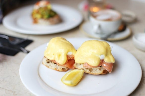 Anoushka Probyn London UK Fashion Blogger Brunch Review Restaurant The Fable