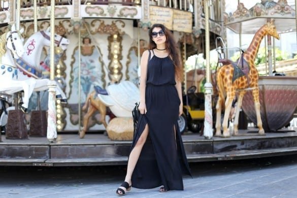 Anoushka Probyn UK London Fashion Blogger Superdry Maxi Carousel