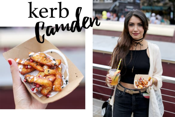 Anoushka Probyn UK London Fashion Blogger KERB Camden Dining