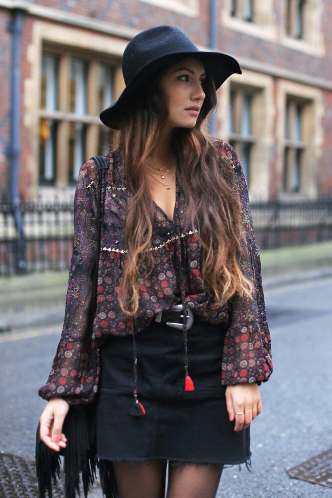 Anoushka Probyn UK London Fashion Blogger Seventies Style