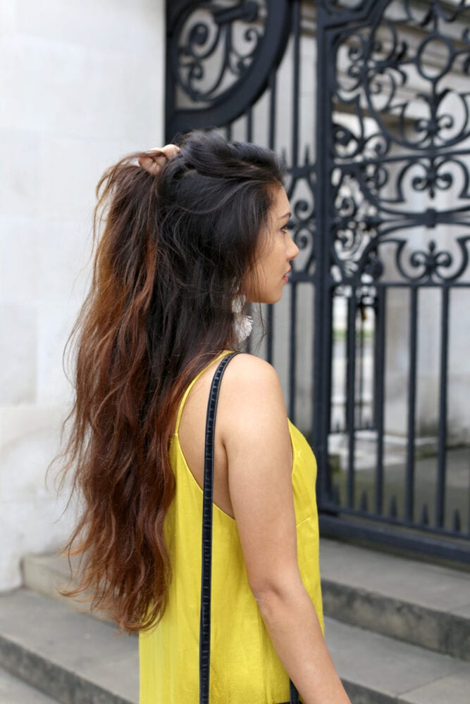 Anoushka Probyn UK London Fashion Travel Blogger St Pauls Yellow Urban Outfitters