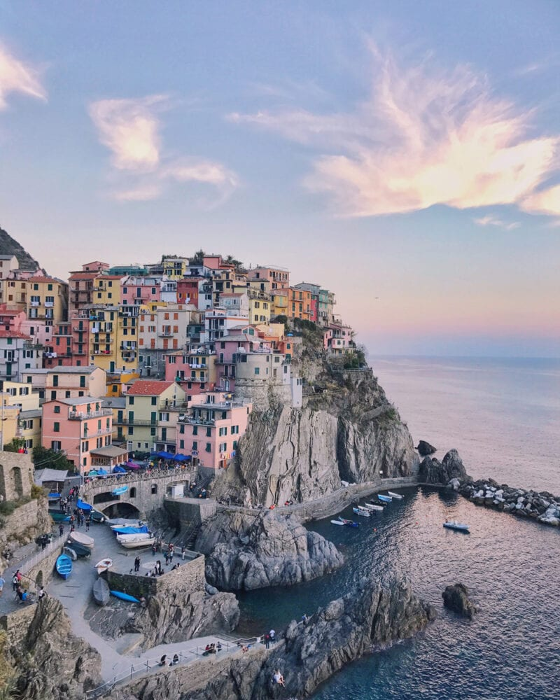 how to get to cinque terre from london
